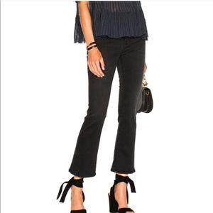 FRAME🖤le crop mini boot cut jeans